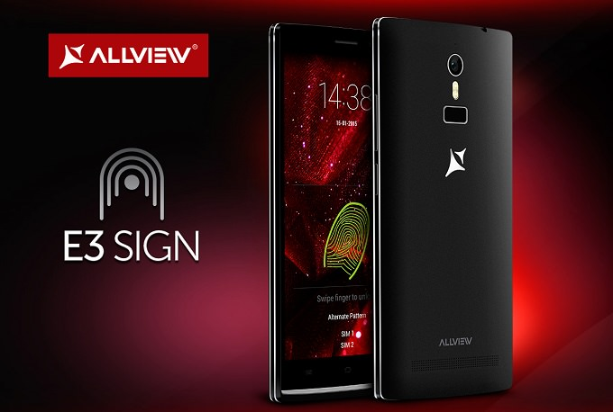 Allview E3 SIGN – smartphone cu senzor de amprentă Synaptics featured allview
