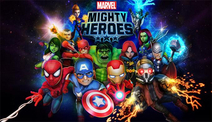 Marvel Mighty Heroes - supereroi și multiplayer într-un singur joc marvel joc