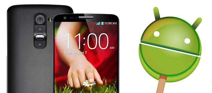 LG a publicat codul sursă 5.0.2 Lollipop pentru G2 - în curând încep și actualizările OTA lollipop lg g2