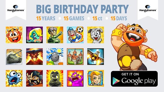 HandyGames oferă 15 jocuri la doar 0.15$ (1 RON) fiecare reduceri jocuri