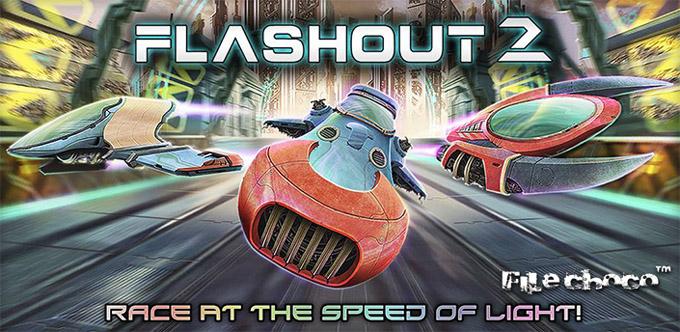 Flashout 2S - un joc cu nave, curse anti-gravity, rachete și multe arme flashout jocuri