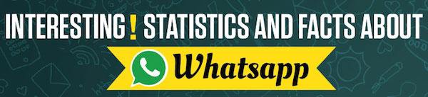 Un infografic ne dezvăluie o mulțime de lucruri interesante despre aplicația WhatsApp și companie whatsapp infografic
