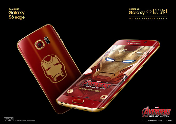 Samsung a publicat unboxing-ul modelului Galaxy S6 Edge Iron Man edge s6 iron man featured