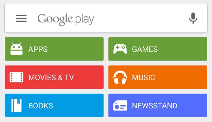 Aplicația Play Store a fost actualizată la versiunea 5.5 material update play store