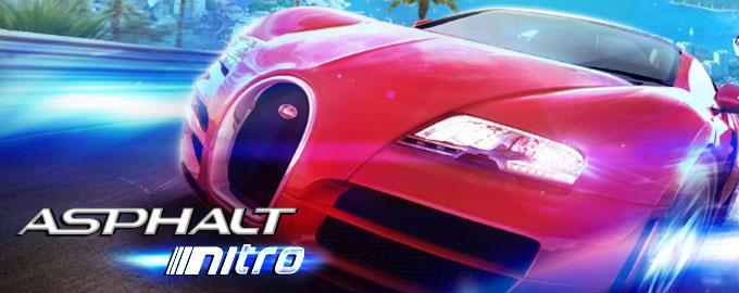 Asphalt Nitro a fost lansat exclusiv în magazinul Gameloft și are doar 15MB nitro gameloft asphalt
