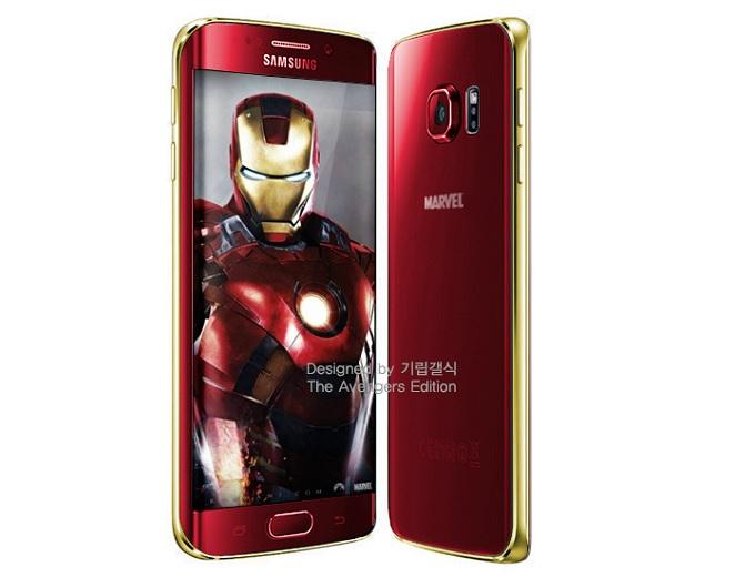 "Samsung Galaxy S6 și S6 Edge vor fi lansate și într-o ediție ""Iron Man"" marvel samsung galaxy"