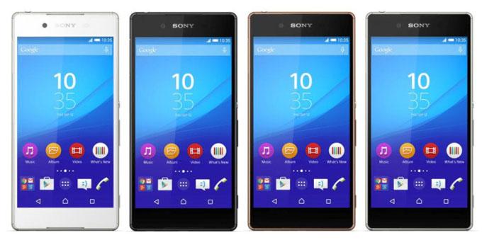 Sony a relansat Xperia Z4 la nivel global sub numele de Xperia Z3+ z3 xperia sony
