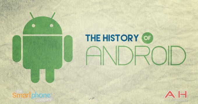 Istoria Android, de la Cupcake la Android M, prezentată printr-un infografic istorie android featured android