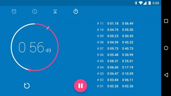 Aplicația Google Clock a fost publicată în Play Store clock google