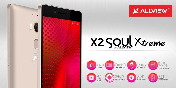 Allview a anunțat phablet-ul X2 Xtreme phablet allview