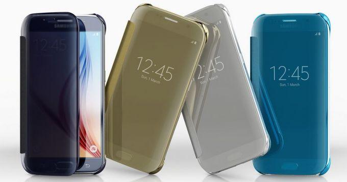 Samsung va înlocui ecranele zgâriate de husa Clear View Cover cover clear s6 samsung