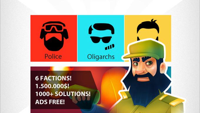 Dictator: Revolt - totalitarism pe Android dictator joc