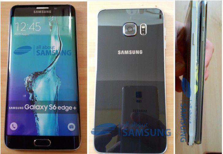 Galaxy S6 Edge Plus a apărut în câteva imagini alături de Note 4 zvonuri edge samsung