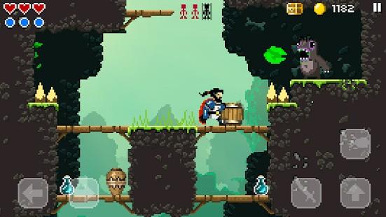 Sword of Xolan - lupte, vrăji, castele și foarte mulți pixeli platformer pixel