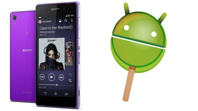 Firmware-ul Android 5.1.1 Lollipop (23.4.A.0.546) a fost confirmat pentru seriile Xperia Z2 și Z3 sony lollipop