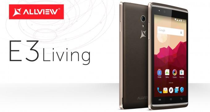 E3 Living - un nou smartphone dual-SIM de la Allview dual sim allview