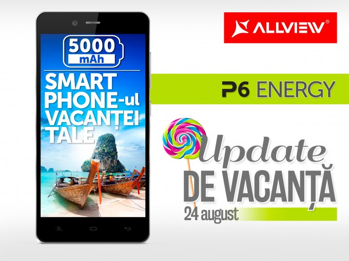 "Allview P6 Energy va primi un important ""update de vacanță"" lollipop allview"