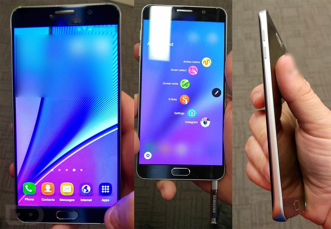 Samsung Galaxy Note 5 a mai apărut în câteva fotografii samsung note
