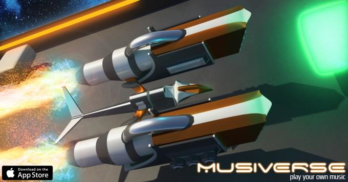 Musiverse - curse cu nave pe muzica voastră favorită muzică jocuri