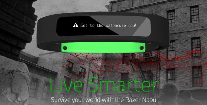 Razer a anunțat Nabu, smartband-ul care te salvează de zombi smartband fitness