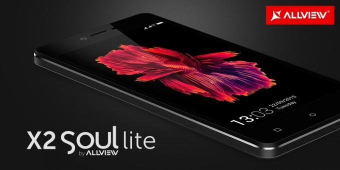 Allview X2 Soul Lite - cel mai accesibil smartphone din gama Soul soul allview