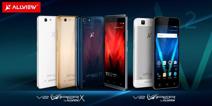 Allview a lansat 2 noi smartphone-uri din gama Viper viper allview