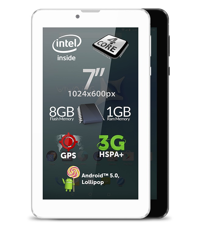 Allview i7G - prima tabletă cu procesor Intel SoPHIA 3G-R viva tableta allview
