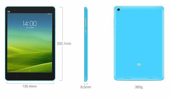 Xiaomi MiPad - tabletă quad-core de 7.9 inch la 217$ xiaomi gearbest