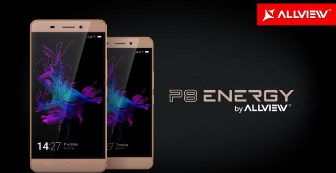 Allview va lansa P8 Energy Mini allview