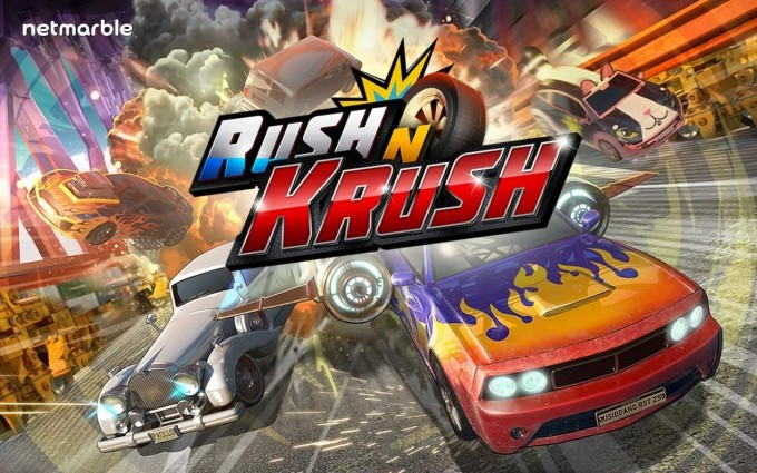 Rush N Krush - endless runner cu mașini runner endless arcade
