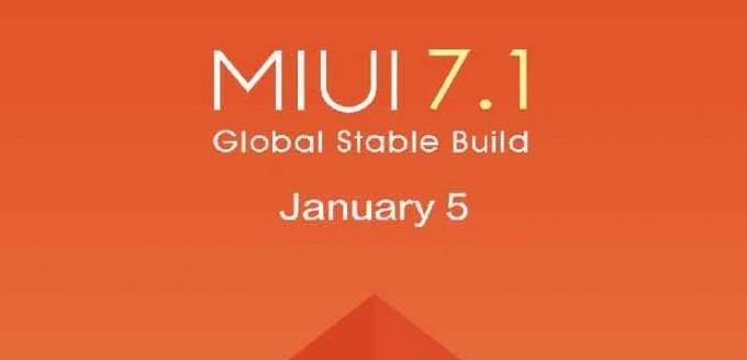 MIUI 7.1 este disponibil pentru utilizatorii de device-uri Xiaomi mui xiaomi