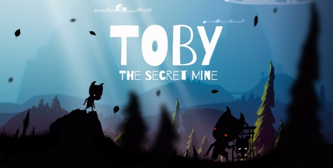 Toby: The Secret Mine - un nou platformer minimalist disponibil în Play Store platformer