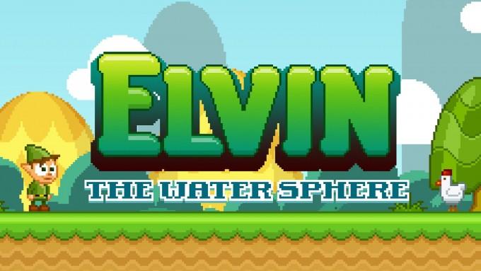 Elvin: The Water Sphere - platformer retro cu elfi și goblini retro platformer