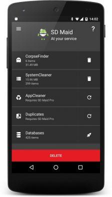 SD Maid - aplicație pentru curățarea Android-ului [10 coduri promo gratuite] coduri promo system cleaner