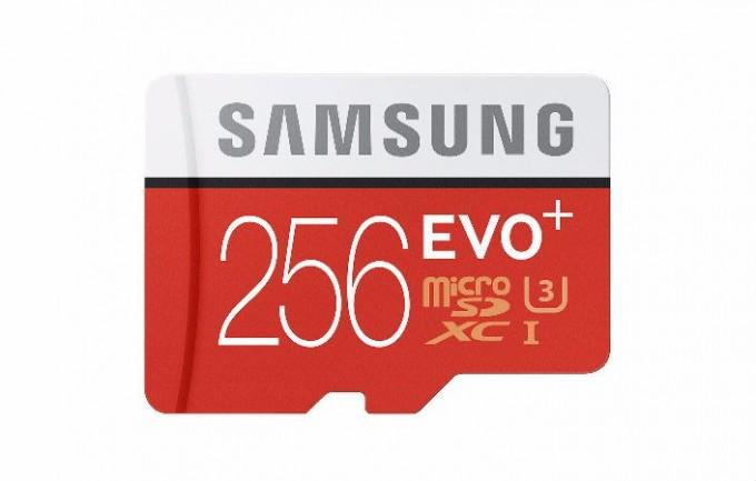 Samsung a anunțat cardul MicroSD EVO Plus cu o capacitate de 256GB microsd samsung