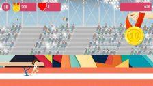 Nadia's Perfect 10 - jocul dedicat gimnastei de nota 10 side scrolling