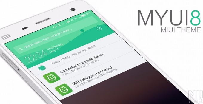 Xiaomi a publicat astăzi versiunea stable a lui MIUI 8 miui xiaomi