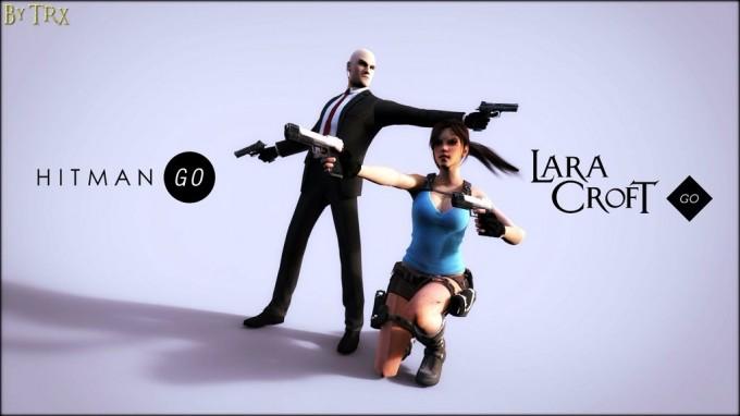 Hitman GO și Lara Croft GO reduse la 0.99$ hitman sales reduceri