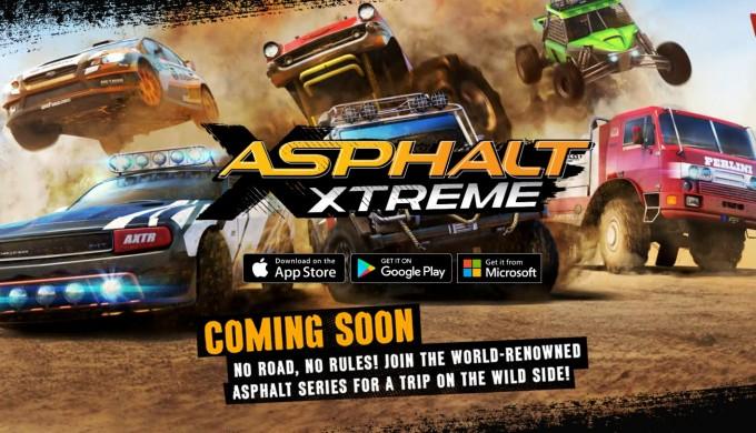Asphalt Xtreme în curând pe terminalele mobile racing asphalt