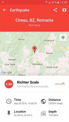 My Earthquake Alerts - informații și notificări live despre seisme [10 coduri promo gratuite] cutremur