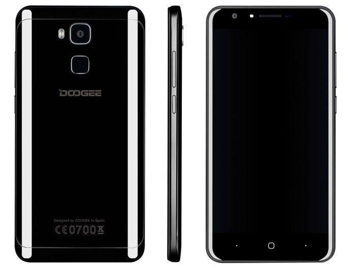 """Doogee Y6 a fost anunțat: ecran de 5.5 inch și culoare """"Piano Black"""" doogee"""
