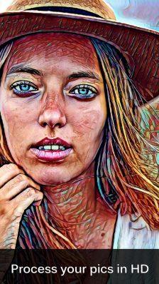 Painnt - o nouă aplicație cu filtre artistice filtre