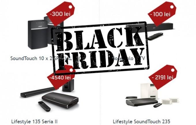 Reduceri cu ocazia Black Friday și de la Bose România bose black friday