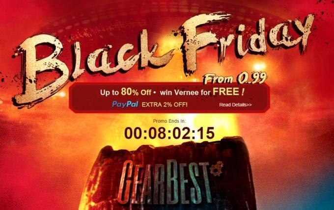"""Ultima zi de reduceri pe GearBest, cu ocazia """"Black Friday"""" bf gearbest"""