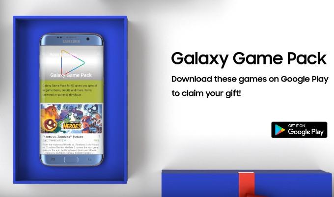 Samsung oferă Galaxy Game Pack pentru posesorii de S7/S7 Edge, cu ocazia sărbătorilor s7 pack samsung