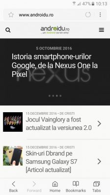 Screenshot_20161216-101307-224x398 Samsung Internet v5.0: design nou și extensii