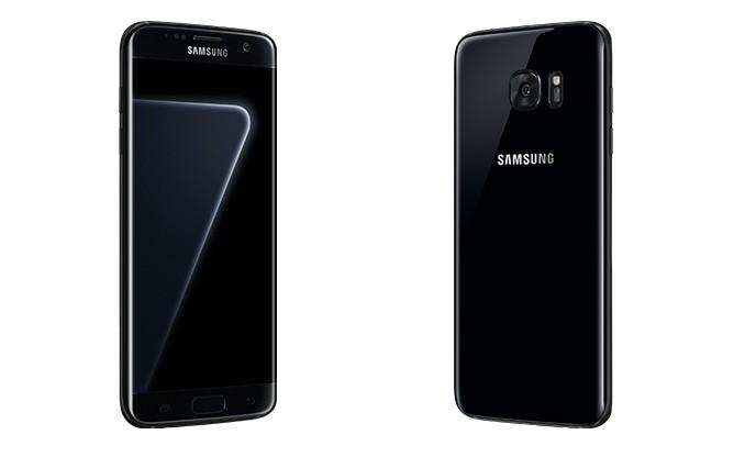 Galaxy S7 Edge a fost anunțat oficial într-o nouă versiune de culoare - Black Pearl s7 galaxy edge