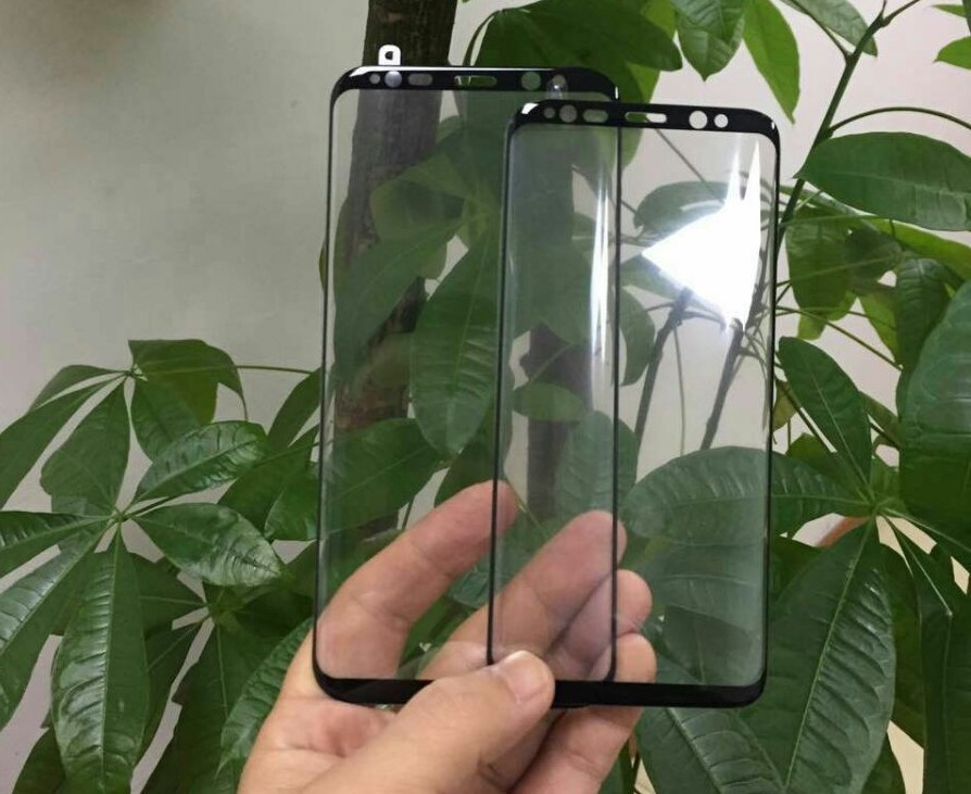Pretinsul panou frontal al lui Samsung Galaxy S8/S8 Plus într-o nouă imagine pe Internet s8 zvon