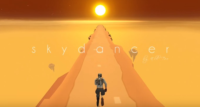 Sky Dancer - un endless runner puțin mai diferit runner