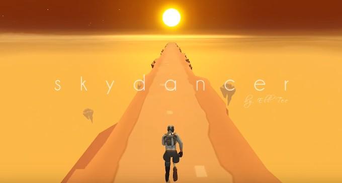 Sky Dancer - un endless runner puțin mai diferit runner